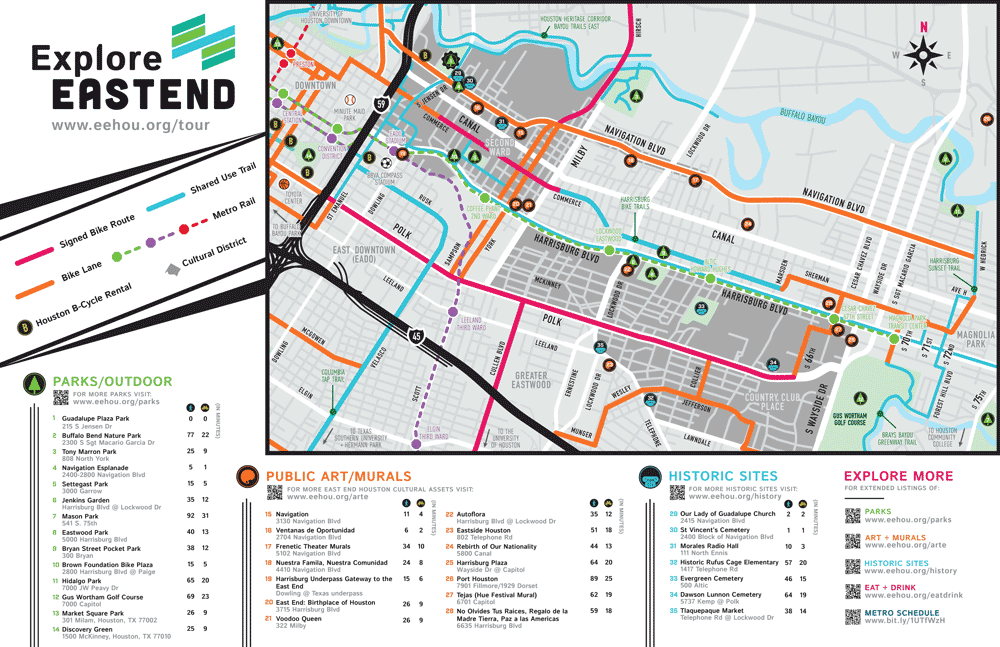 EastEnd Bike Map
